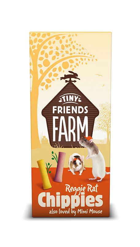 TINY FRIENDS FARM REGGIE RAT CHIPPIES