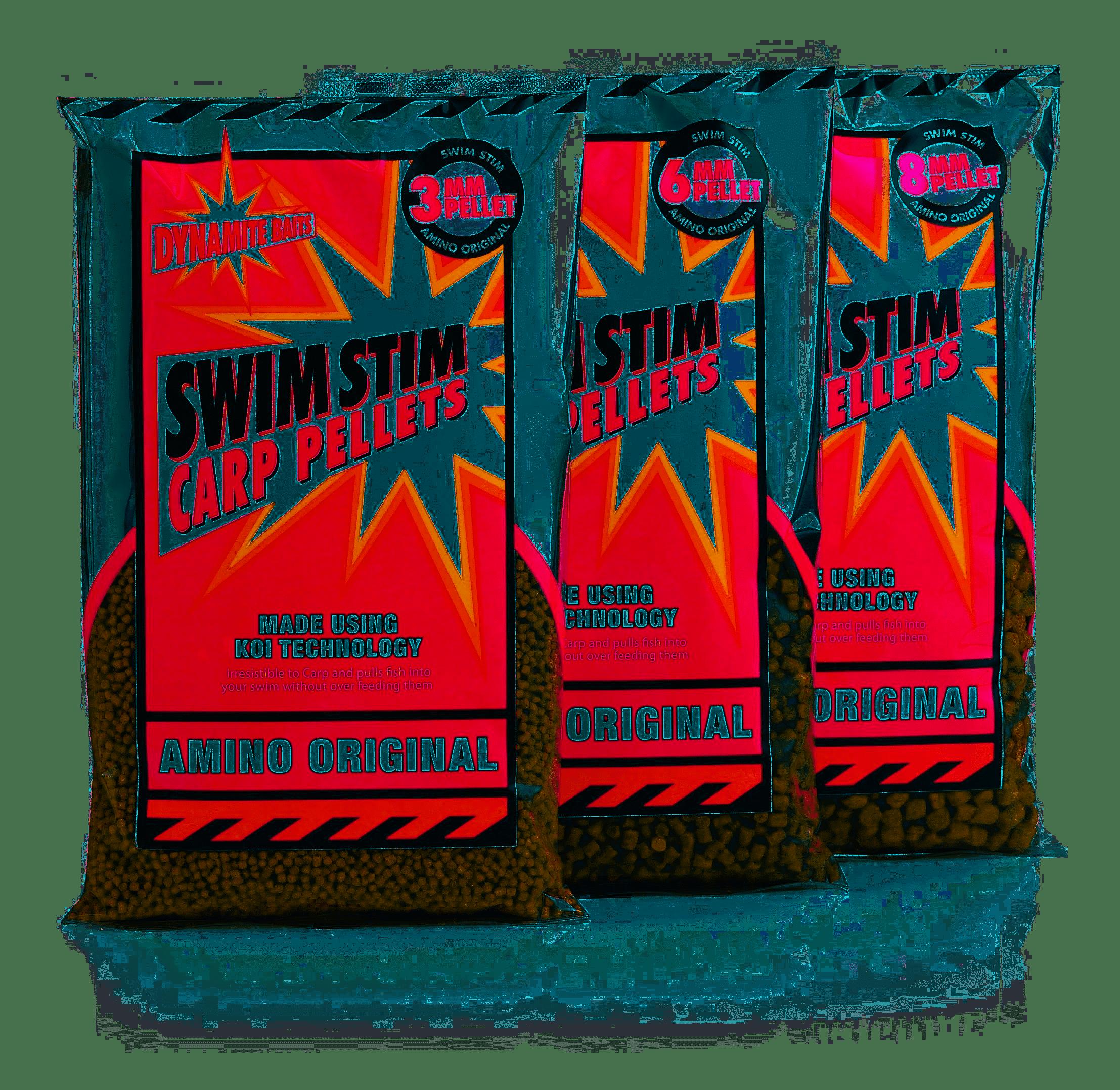Dynamite Swim Stim Amino Original Pellets