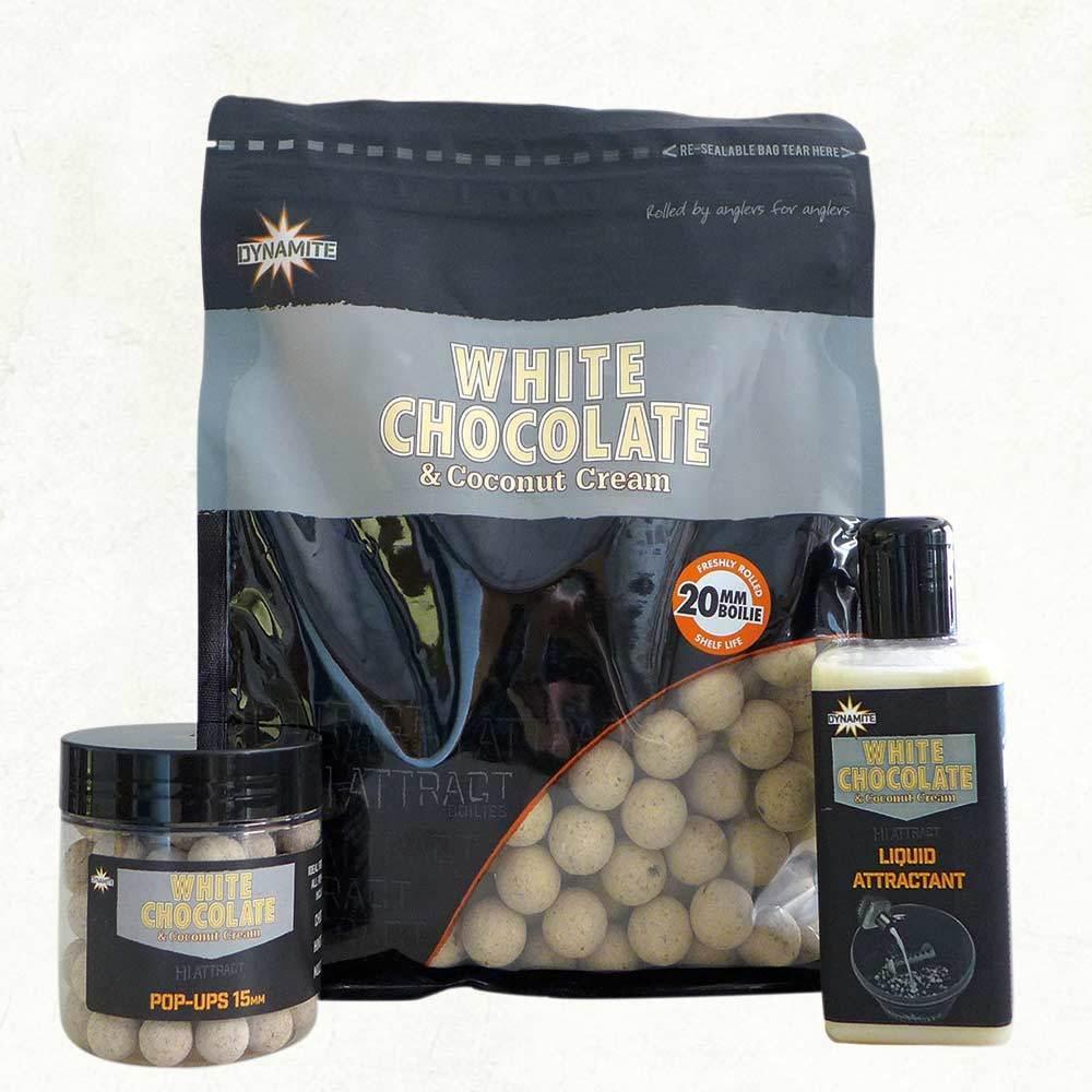 Dynamite Baits White Chocolate & Coconut Cream Boilies 20MM