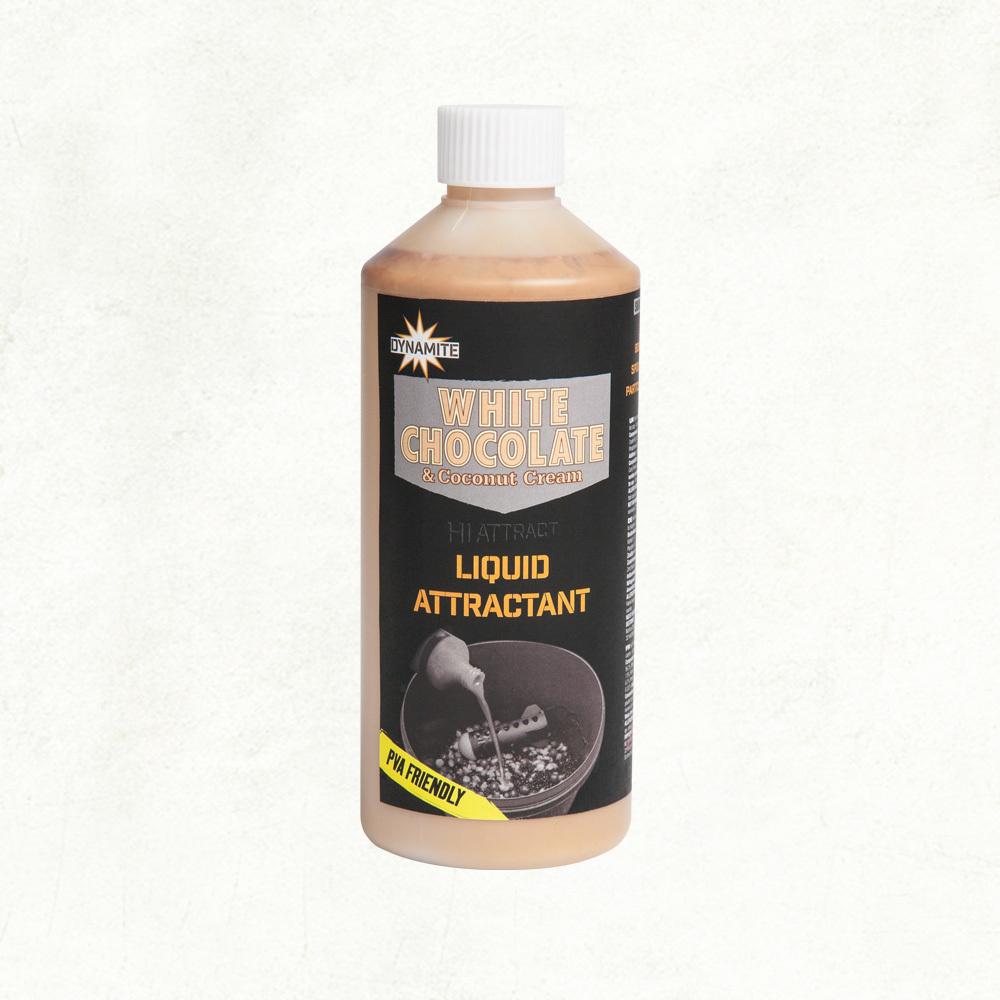 Dynamite Baits White Chocolate & Cocos Liquid