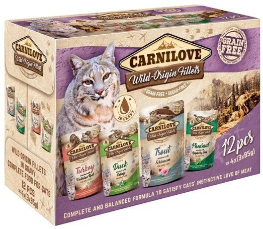 Carnilove Kat Pouch Multipack