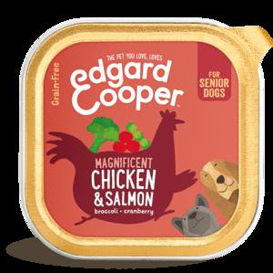 Edgard en Cooper Hond Kuipje Kip & Zalm