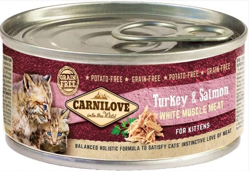 Carnilove Kitten Blikvoeding Kalkoen en Zalm