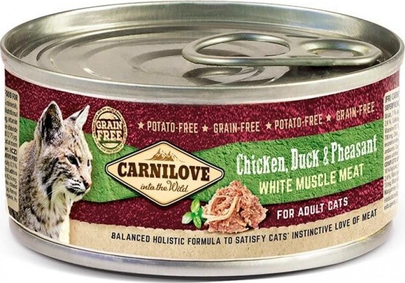Carnilove Kat Blikvoeding Kip Eend & Fazant