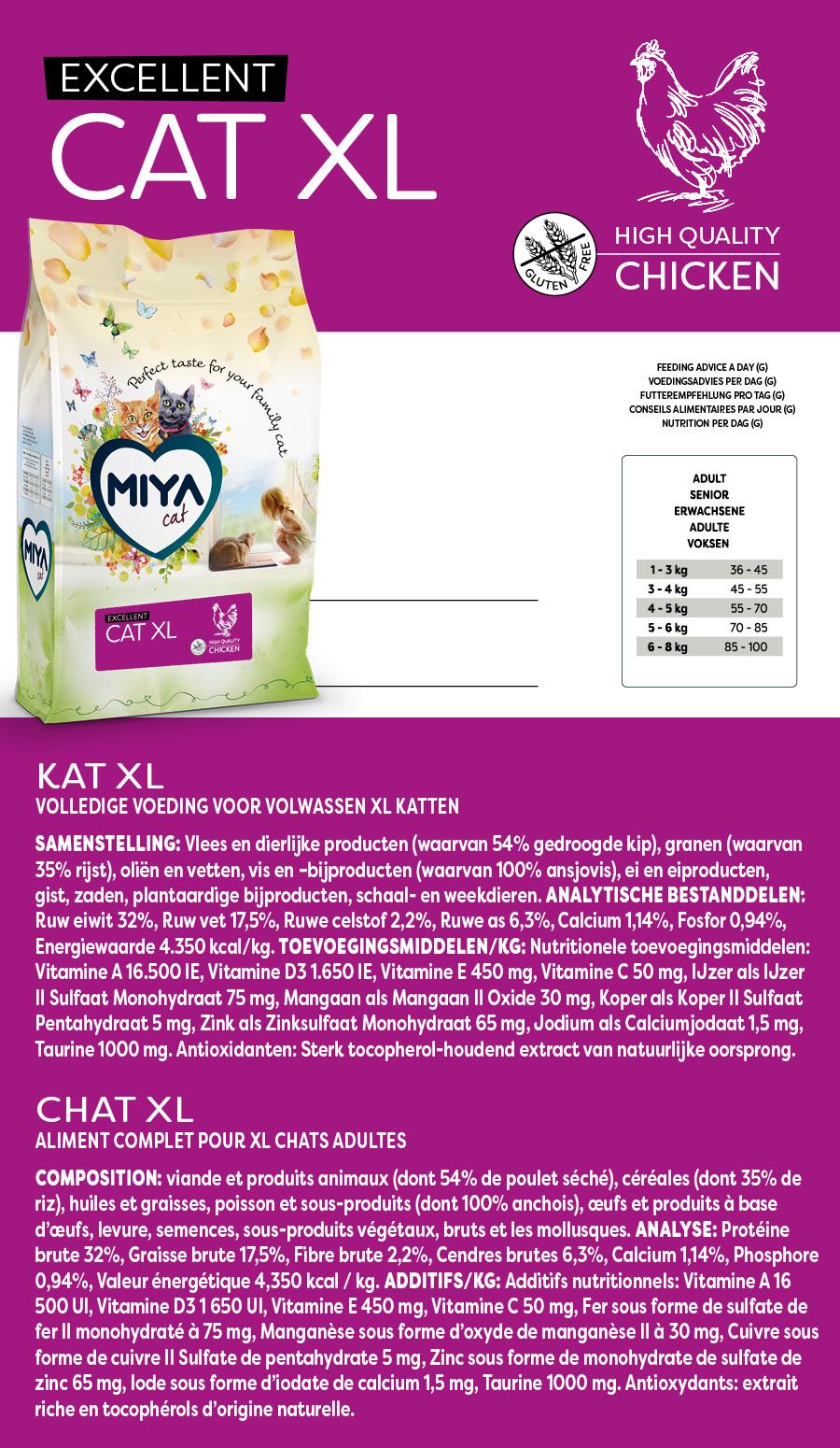 Miya Cat XL