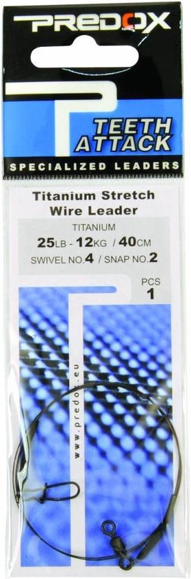 Predox Titanium Stretch Leader